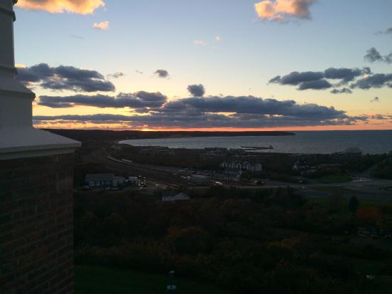 Montauk Manor: View from terrace in 425