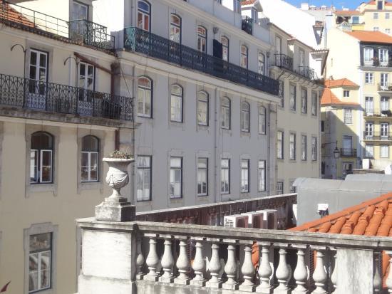Rossio Hostel: view