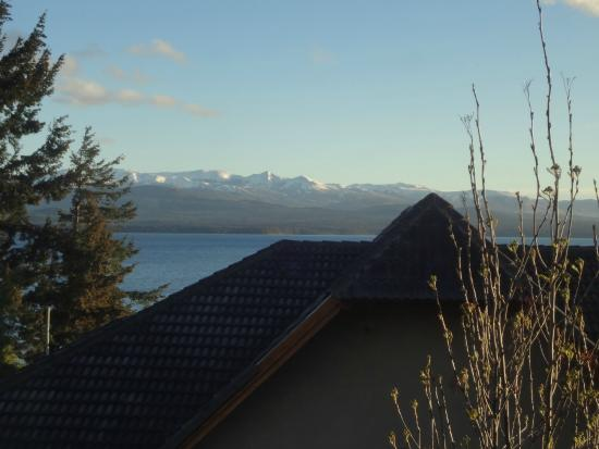 Green House Hostel Bariloche: view from the room