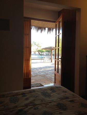 Hosteria San Pedro de Atacama: La vue depuis ma chambre laisse penser que le cadre est enchanteur, mais ce n'est qu'une fausse