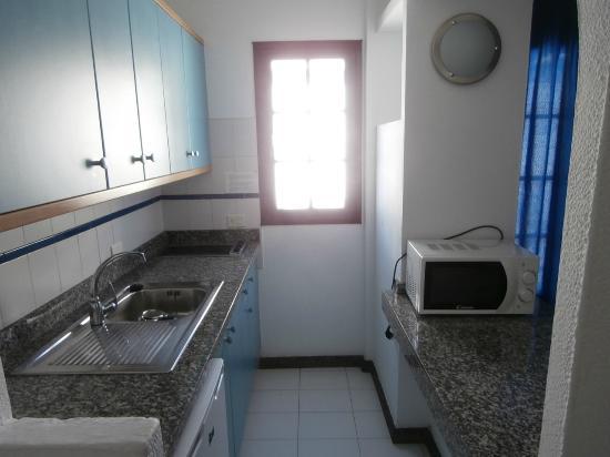 Plaza Azul: La cocina