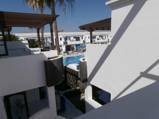 Plaza Azul: Vista de la piscina