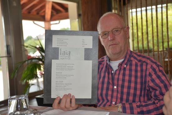 Laia erretegia sagardotegia: La Carta  (Restaurante Laia)