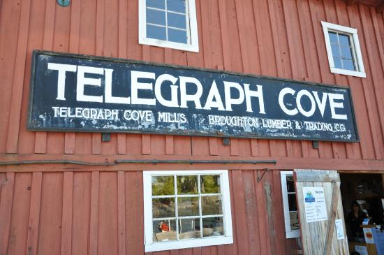Telegraph Cove Marina & RV Park : Telegraph Cove