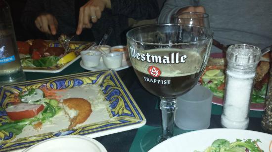 Oud Brugge : scorcio delle pietanze