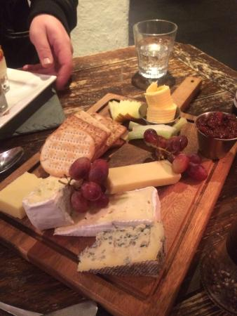 Black Lion Restaurant: The Cheese Board