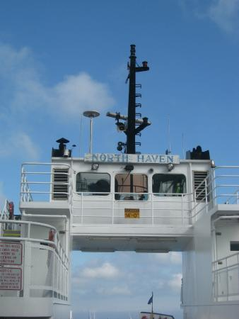 Nebo Lodge: Ferry to North Haven