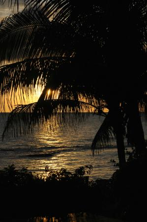 Marblue Villa Suites : Sunset from Marblue gardens