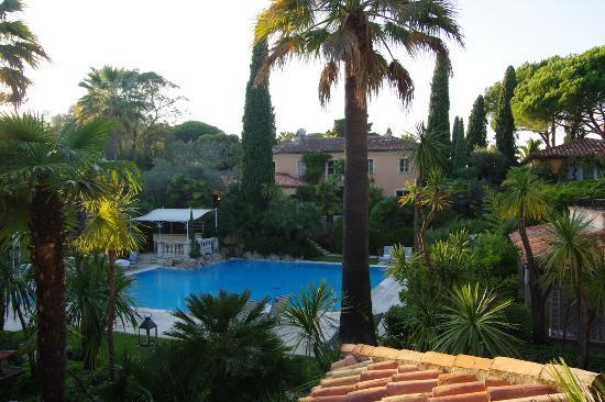 La Bastide de Saint Tropez: View from our room