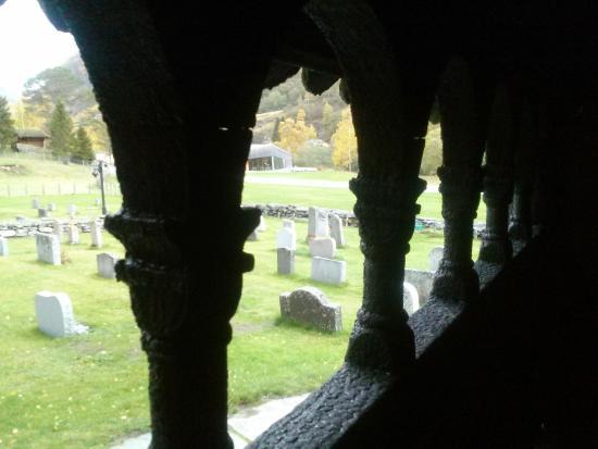 Borgund Stave Church: View