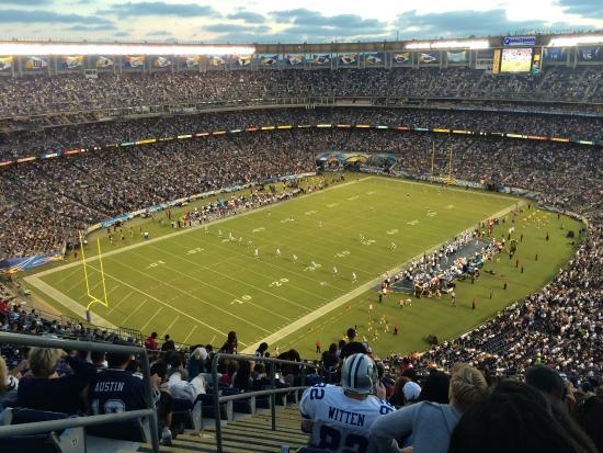 Qualcomm Stadium: GO Cowboys!