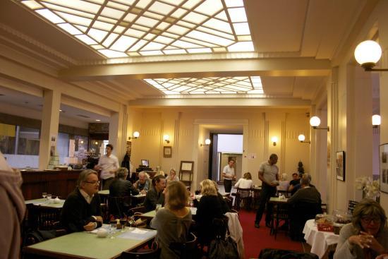 La salle de restaurant Art Déco - Bild von Le restaurant Meert de ...