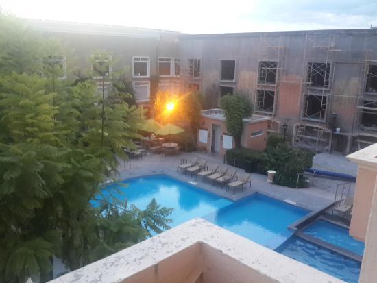 Plaza Camelinas Hotel : Vista desde la habitación