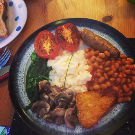 Glastro Cafe: Veggie brekkie- so so yummy!!!!