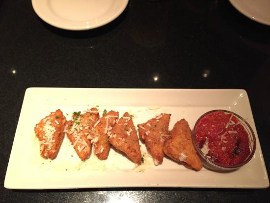 The Cheesecake Factory: Crispy Cheese off of the Appetizer Menu