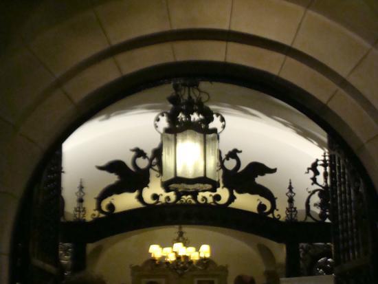 Museo Evita Restaurant & Bar: Detalle de la entrada