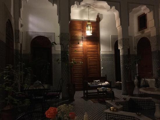 Dar Al Safadi: Innenhof