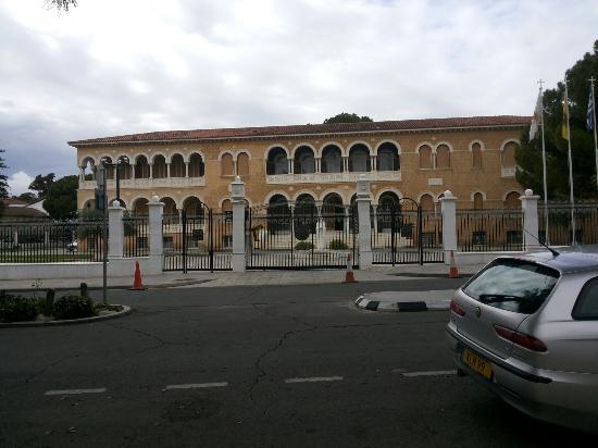 Archbishop Makarios III Foundation - Byzantine Museum and Art Galleries : Αρχιεπισκοπικό μέγαρο