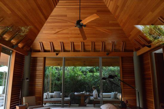 Amanyara: Pool pavilion interior