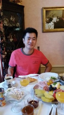 Hotel Park Villa: The breakfast