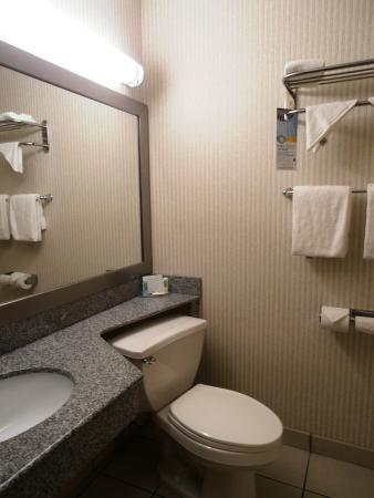 Quality Inn Enola - Harrisburg: Our room bathrooom