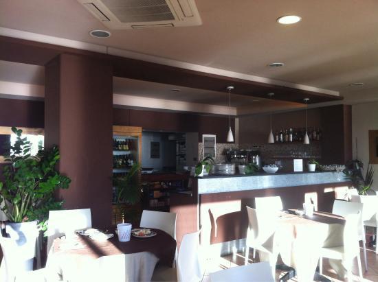 Hotel Corallo: Restaurant for breakfast