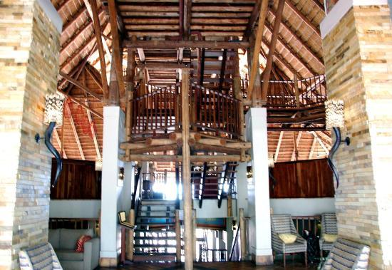 Makuwa-kuwa restaurant at the Victoria Falls Safari Lodge
