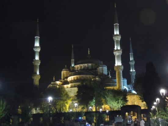 The Istanbul Hotel: die Blaue Moschee