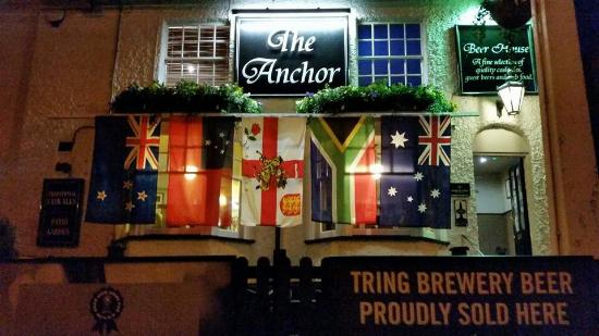 The anchor Tring