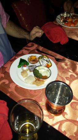 Nawab Saheb : Deserts plate