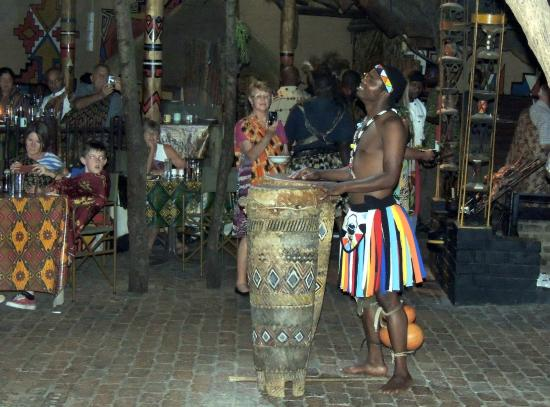 The Boma - Dinner & Drum Show: Entertainer at the Boma Restaurant