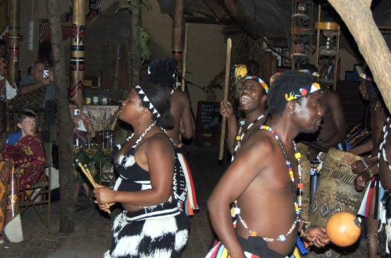The Boma - Dinner & Drum Show: African dancers at the Boma Restaurant
