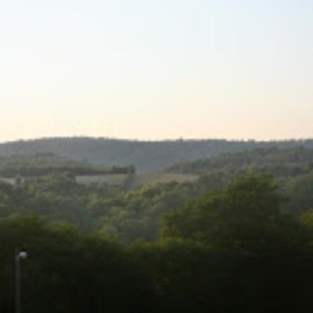 Howard Johnson Inn Lexington : The view was breathtaking