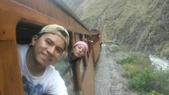 Tren Ecuador: Experiencia inolvidable. Tren nariz del diablo Alausi-Simbambe.