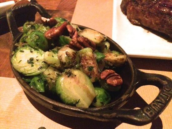 J & G Steakhouse at the Phoenician: Brussels Sprouts