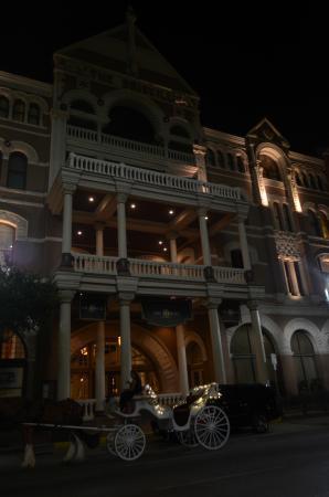 The Driskill: di notte