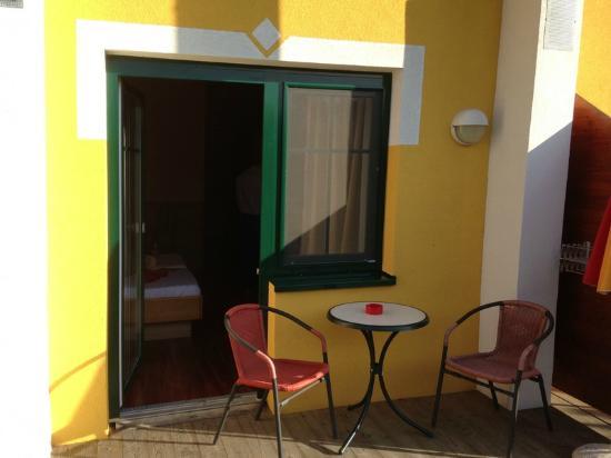 Thermenhotel PuchasPLUS Stegersbach: Kleine Terrasse