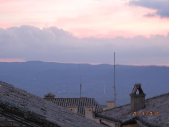 Hotel La Fortezza: Vista desde la habitacion