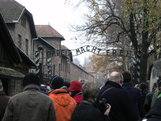 Krakow Airport Express - Tours: Entrance to Auschwitz