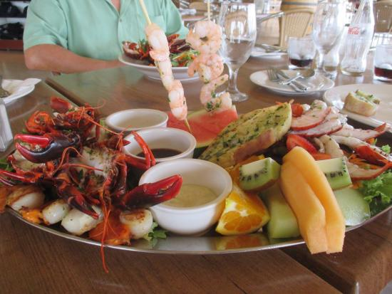 Marron Cafe: What a feast!
