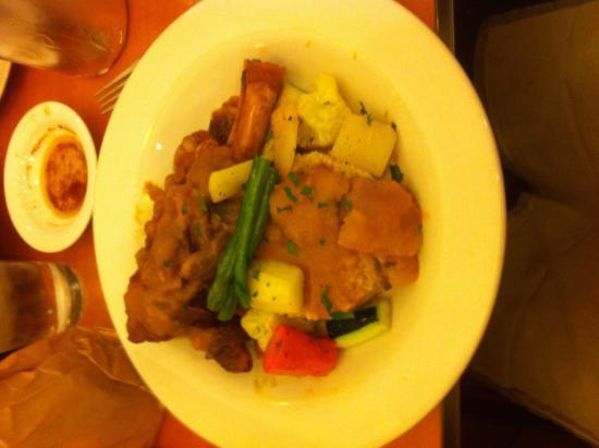Kous Kous Cafe: Roast lamb shank - outstanding