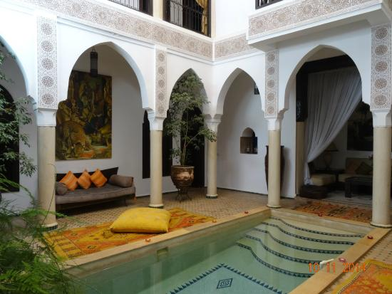 Riad Andalouse: le patio