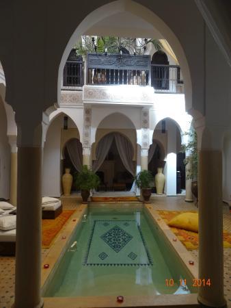 Riad Andalouse: le patio