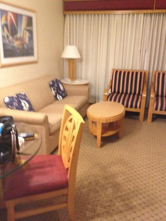 The Cove at Yarmouth: Living room area