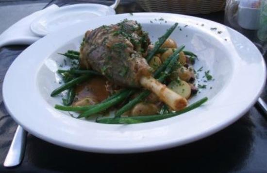 Bistro Lounge GARCONS!: Lamb dinner plate