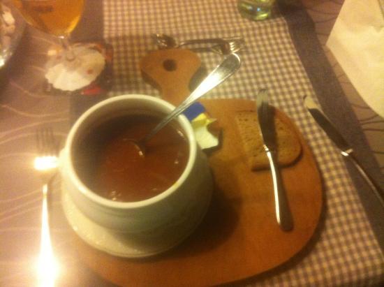 Hotel Zum Walde: Goulash soep