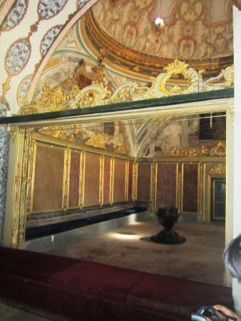 Interno dell 39 harem foto di palazzo di topkapi istanbul - Divano di istanbul ...