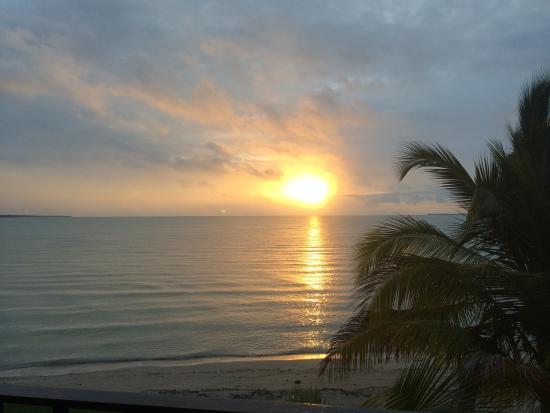 Almond Tree Hotel Resort: Sunset from the balcony