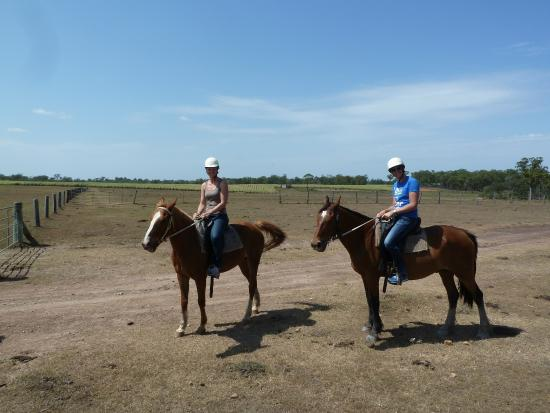 Susan River Homestead Adventure Resort: Horse riding