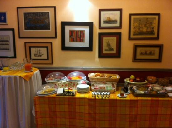 Hotel La Casona: Breakfast buffet